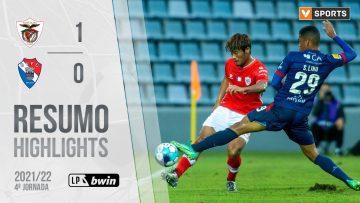 Highlights | Resumo: Santa Clara 1-0 Gil Vicente (Liga 21/22 #4)