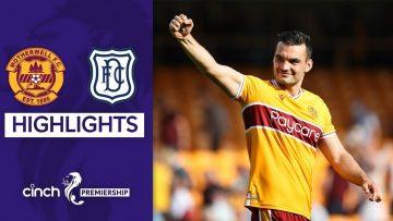 Motherwell 1-0 Dundee | Tony Watt Heads Winner In Tight Contest! | cinch Premiership