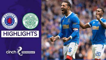 Rangers 1-0 Celtic | Rangers Get One Over Celtic in Pulsating Derby | cinch Premiership
