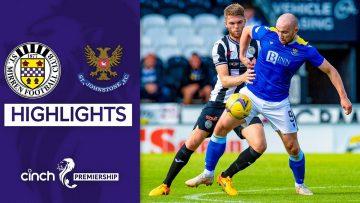 St Mirren 0-0 St Johnstone | All Even In Cagey Affair | cinch Premiership