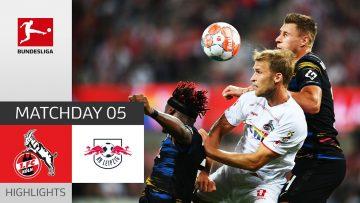 1. FC Köln – RB Leipzig 1-1 | Highlights | Matchday 5 – Bundesliga 2021/22