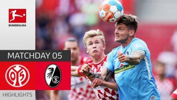1. FSV Mainz 05 – SC Freiburg 0-0 | Highlights | Matchday 5 – Bundesliga 2021/22
