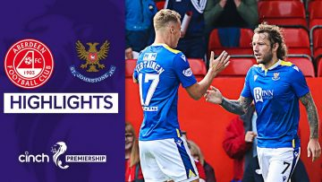 Aberdeen 0-1 St Johnstone | May's Late Goal Gives St Johnstone First Win! | cinch Premiership