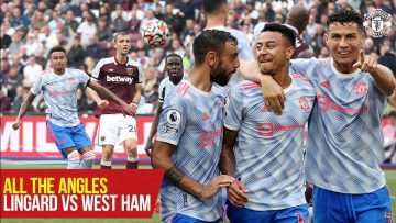 All the Angles | Jesse Lingards late winner v West Ham | West Ham 1-2 Manchester United