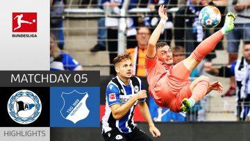 Arminia Bielefeld – TSG Hoffenheim 0-0 | Highlights | Matchday 5 – Bundesliga 2021/22