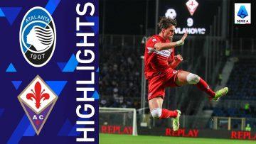 Atalanta 1-2 Fiorentina   Vlahovic stuns Atalanta with a brace   Serie A 2021/22