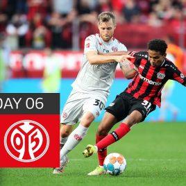 Bayer 04 Leverkusen – 1. FSV Mainz 05 1-0 | Highlights | Matchday 6 – Bundesliga 2021/22
