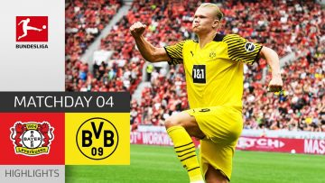 Bayer 04 Leverkusen – Borussia Dortmund 3-4 | Highlights | Matchday 4 – Bundesliga 2021/22