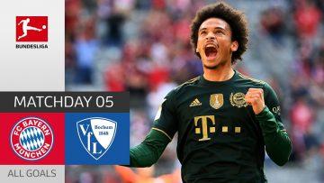 Bayern's Goal Factory on Fire | Bayern München – Bochum 7-0 | All Goals | MD 5 – Bundesliga 2021/22