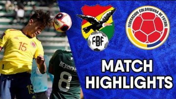 Bolivia vs Colombia | Matchday 9 Highlights | CONMEBOL South American World Cup Qualifiers