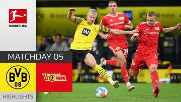 Borussia Dortmund – Union Berlin 4-2 | Highlights | Matchday 5 – Bundesliga 2021/22