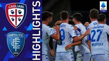 Cagliari 0-2 Empoli | Colpo dell'Empoli all'Unipol Domus | Serie A TIM 2021/22