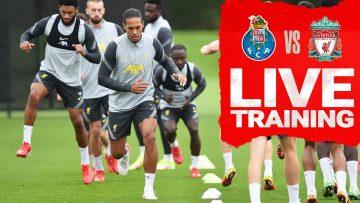 Champions League training LIVE   Reds prepare for Porto visit