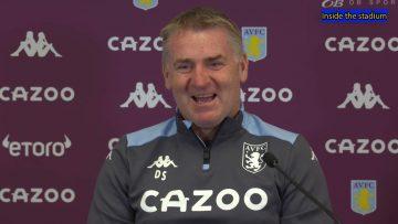Chelsea Vs Aston Villa | Dean Smith | Pre Match