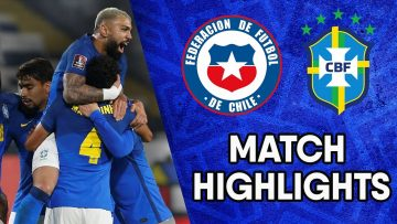 Chile vs Brazil | Matchday 9 Highlights | CONMEBOL South American World Cup Qualifiers