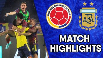 Colombia vs Argentina | Matchday 8 Highlights | CONMEBOL South American World Cup Qualifiers