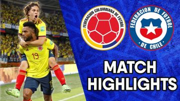 Colombia vs Chile | Matchday 10 Highlights | CONMEBOL South American World Cup Qualifiers