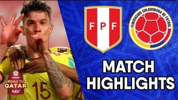 CONMEBOL South American World Cup Qualifiers Match Highlights: Colombia vs Peru