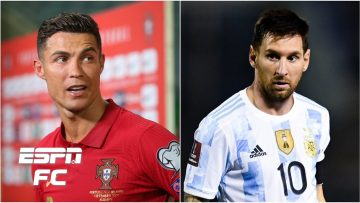 Cristiano Ronaldo or Lionel Messi: Whos had the better international career?   ESPN FC Extra Time