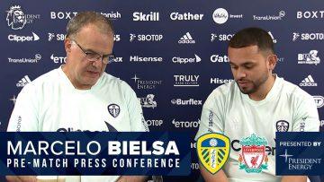 Dan James arrival, Raphinha, team news | Marcelo Bielsa press conference | Leeds United v Liverpool