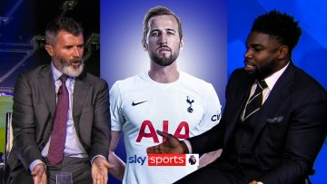 DRAG HIM OFF! | Keane and Richards CLASH arguing about Harry Kane! 💥