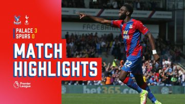 Edouard brace guides Eagles to trump top-of-table Spurs | Match Action
