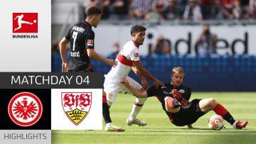 Eintracht Frankfurt – VfB Stuttgart 1-1 | Highlights | Matchday 4 – Bundesliga 2021/22