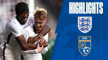 England U21 2-0 Kosovo U21 | Cole Palmer Scores on England U21 Debut | Highlights