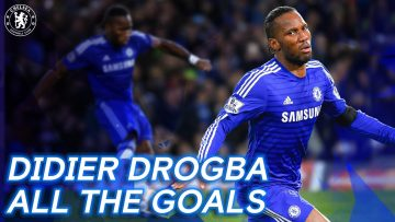 Every Didier Drogba Chelsea Goal | Legend, Icon, Winner