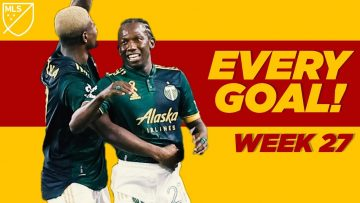 Every Goal Week 27: Newcomers goals, Zardes, Chara brothers, and much more!