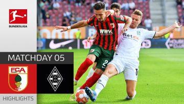 FC Augsburg – Borussia Mgladbach 1-0 | Highlights | Matchday 5 – Bundesliga 2021/22