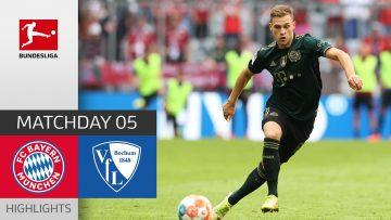 FC Bayern München – VfL Bochum 7-0 | Highlights | Matchday 5 – Bundesliga 2021/22