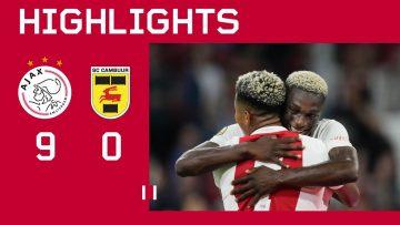 Goals everywhere 🥵 | Highlights Ajax – SC Cambuur | Eredivisie
