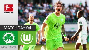 Greuther Fürth – VfL Wolfsburg 0-2   Highlights   Matchday 4 – Bundesliga 2021/22