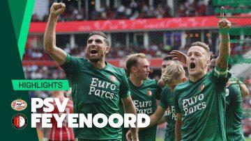 GROTE ZEGE in eerste topper! 🔥 | Highlights PSV – Feyenoord | 2021-2022