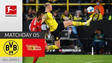 Haaland strikes again! | BVB – Union Berlin 4-2 | All Goals | Matchday 5 – Bundesliga 2021/22