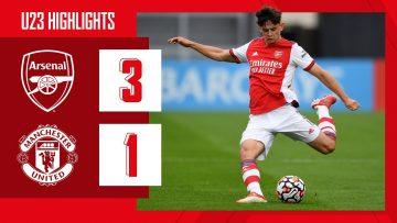 HIGHLIGHTS | Arsenal vs Manchester United (3-1) | U23 | Balogun (2) and Patino score!