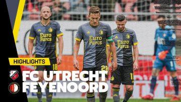 Highlights | FC Utrecht – Feyenoord | Eredivisie 2021-2022