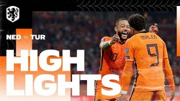Highlights Nederland – Turkije (7/9/2021) WK-kwalificatie