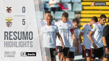 Highlights | Resumo: Santa Clara 0-5 Benfica (Liga 21/22 #5)