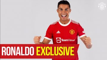 Im so happy to be back home Cristiano Ronaldo Exclusive Interview | Manchester United