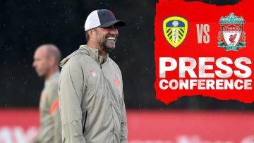 Jürgen Klopps pre match press conference | Leeds United