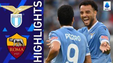 Lazio 3-2 Roma | Lazio win the Roma Derby! | Serie A 2021/22