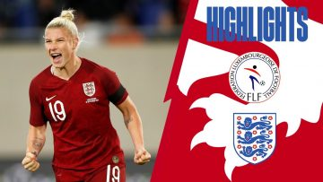 Luxembourg 0-10 England | Lionesses Continue Goal Scoring Form in Qualifiers | Highlights