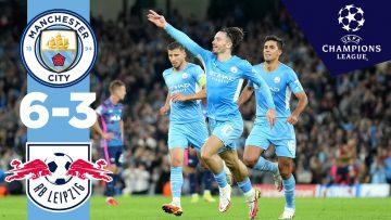 Man City Highlights! | Man City 6-3 RB Leipzig | Ake, Mahrez, Grealish, Cancelo, Jesus Goals!