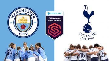 Manchester City vs Tottenham – FA WSL Womens Super League – 12/09/2021