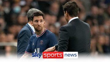 Mauricio Pochettino defends Lionel Messi substitution in late PSG win