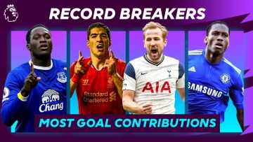 Most goals and assists in a single season! Premier League Record Breakers
