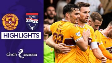 Motherwell 2-1 Ross County | Watt Saves the Day for Motherwell! | cinch Premiership