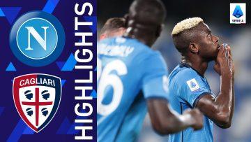 Napoli 2-0 Cagliari | Napoli win again! | Serie A 2021/22